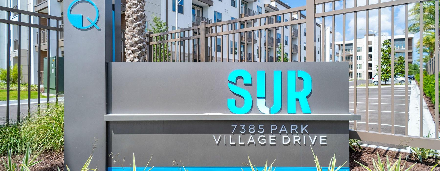 front sign of Sur Southside Quarter